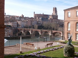ALBI : APPARTEMENT BELLE VUE CATHEDRALE