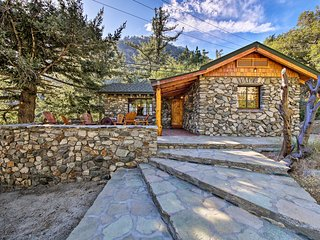 Walk to Hiking Trails from Mt. Baldy Cabin!