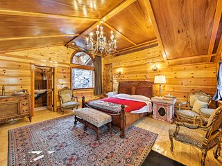 NEW! Elegant Studio Cabin - 1mi to Mt Baldy Resort