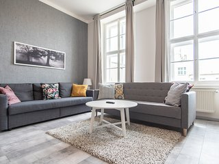 Play Board Games  At This Wenceslas Sq. Loft with luggage room  by easyBNB