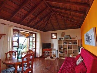 Casa Tanausu - Kanarisches Landhaus mit Meer- & Bergblick und riesigem Garten