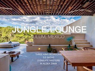 JUNGLE LOUNGE:Gated 2-Level Penthouse, Plunge Pool, Gated in Exclusive Luum Zama