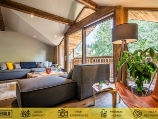 MOULIN II - Design chalet with private hot-tub and garden