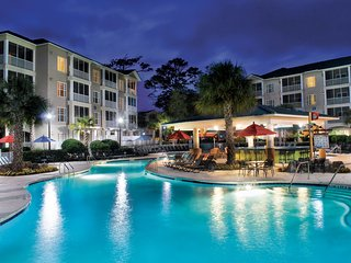 Outdoor Pool + Lazy River + Giant Waterslides   Holiday Villa in Myrtle Beach
