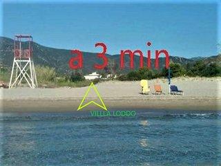I p. a 3 min dal mare tramite accesso riservato in villa nel verde. VillaLoddo4