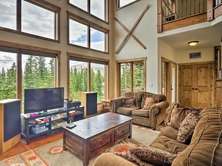 Stunning Breckenridge Home w/ 3 Decks & Mtn Views!