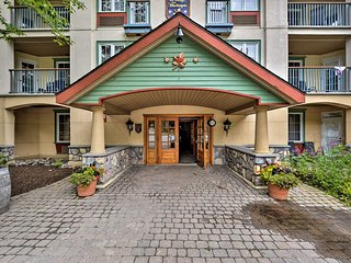 NEW-Chic Ski-In/Out Lodge Studio on Mont Tremblant