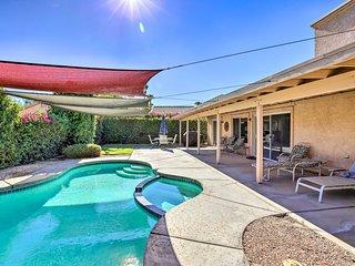 Quiet La Quinta Home w/ Pool 6 Mi to Polo Grounds!
