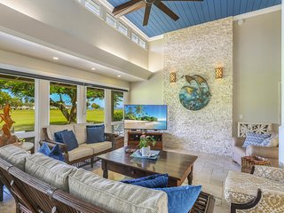 Ocean View, Private home, Queen's bath+Hanalei, Wet bar, Luxury, Half Moon Hana