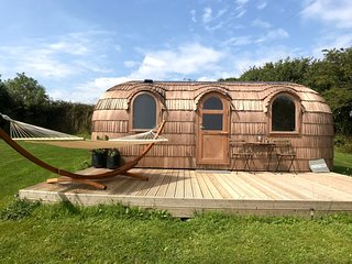 Lydcott Glamping: 'Prosecco' - luxurious glamping nr Looe, Cornwall