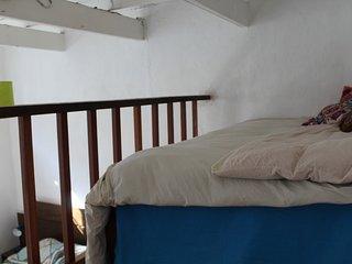 Habitacion en Rustica Casa, Frente al Mar
