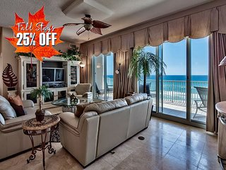 GULF VIEW Luxury Beach Condo *Resort! Pool/Hotub +FREE VIP Perks! 25%OFF FALL