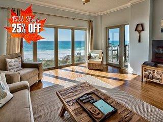 BEACH FRONT w/  Pool~Hotub~Spa *Resort + FREE VIP Perks & MORE! 25% OFF FALL!