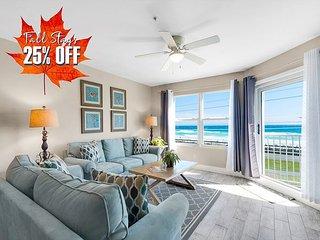 25%OFF FALL +FREE Beach Service &VIP PERKS! Pool/Hotub! RENOVATED, BEACH VIEW