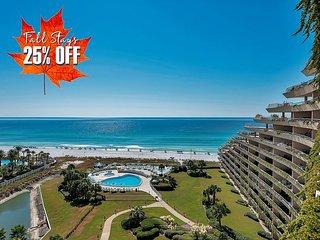 FREE Beach Service & VIP Perks! Pool~Spa * BEACH FRONT Resort! 25% OFF FALL!!
