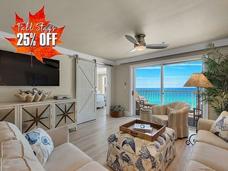 25% OFF FALL + FREE Beach Service! BEACH FRONT w/ Pool~Hotub +FREE VIP PERKS!