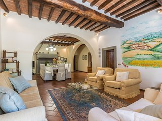 Bagno a Ripoli Villa Sleeps 12 with Pool Air Con and WiFi - 5811107