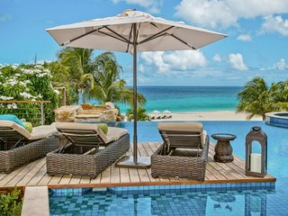 Villa Nevaeh   Beach Front - Located in Magnificent Long Bay with Private Pool