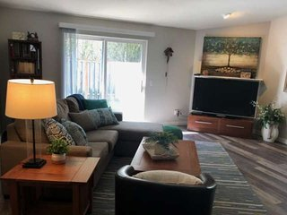 Single Level Gem w/ Foosball Two Blocks to Park w/ Tennis and B-Ball Courts, 12