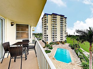 Gulf-Front Condo w/ Balcony View! Enjoy Estero Beach & Tennis Club Amenities
