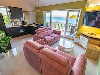Sea Flower Deluxe 3BR APT with sea view in Sobra