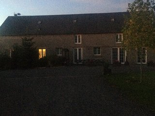 Spacious self catering for families/friends near Mortain, linens included.
