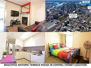 Historic Terrace House in the heart of Sydney city! 3 Bedrooms with A/C