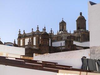 Joya arquitectónica este Ático en la famosa zona histórica de Vegueta