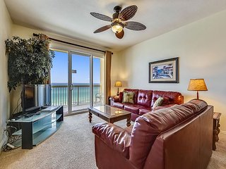 Clean and sanitized Gulf front condo close to Pier Park and ready to rent!