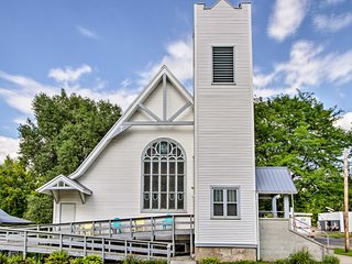 NEW! Historic Church Home - Walk to Durand Shops!