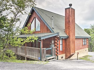 NEW! Sevierville Cabin Near Douglas Lake & P Forge