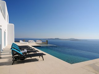 Incredible 7 Bedroom Luxury Mykonos Villa Timon, contact today for best rates!