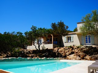 Magnifique Villa avec Piscine - Plage à pieds - PALOMBAGGIA