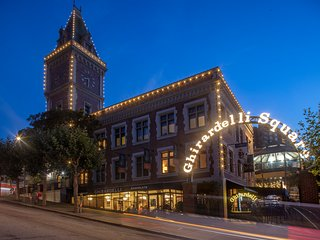 TripAdvisor#1: 2-Bd, 2-Ba Fairmont-Managed Condo in historic Ghirardelli Square