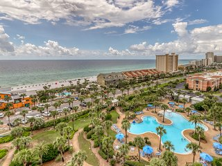 Deluxe condo w/ gulf view, private balcony - shared fitness room and BBQ area!