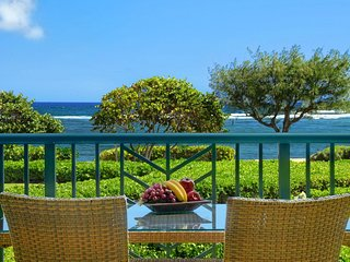 Waipouil Beach Resort Spectacular Luxury Oceanfront Condo Sleeps 8 AC Pool
