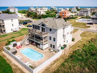 Oceans 10 | 249 ft from the beach | Private Pool, Hot Tub | Corolla