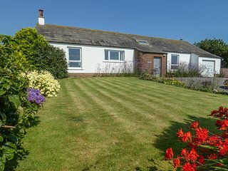 WEST CROFT, single-storey, pet-friendly, WiFi, off road parking, lawned area