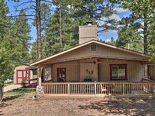 NEW! Coconino National Forest Home w/Deck & Yard!