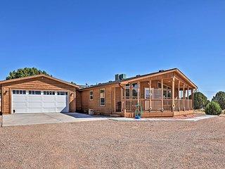 NEW! Eco-Conscious Cedar City Cabin w/ Deck & View