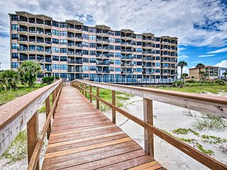 Oceanfront Condo - 11 Miles to Daytona Beach!
