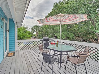 Tybee Island Home w/Game Room & Pet-Friendly Yard!