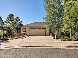 Flagstaff Home w/ Decks, Patio & Forest View!