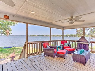 NEW-Home w/Private Dock & Boat on Cedar Creek Lake