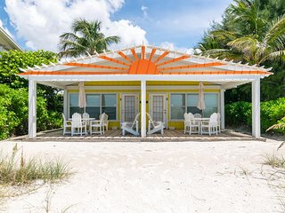 Completely Refurnished Beach Front 1B/1B Unit w/ private covered Patio!