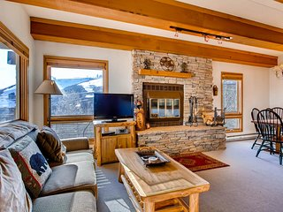 Mountain-Contemporary 2 Br Condo