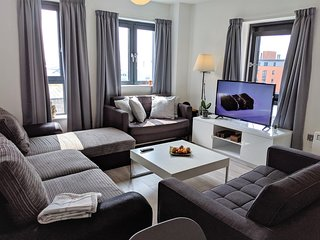 Brewery Village apartment in Baltic Triangle business and leisure area LP center