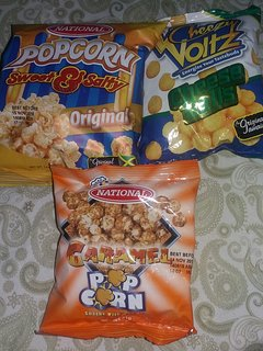 Complimentary snacks to watch Netflix  (while stocks last )
