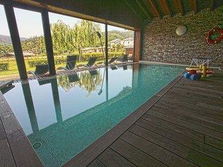 Apartamentos Rurales San Martin. Casa Ferreiro. Piscina climatizada. Jardin.