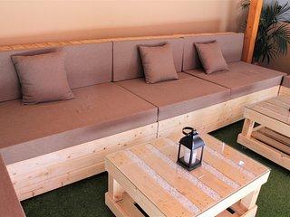 Fantastico apartamento con gran terraza chill out